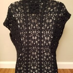 Short sleeve knitted cardigan size XS